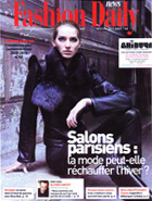 FASHION DAILY janvier 2009